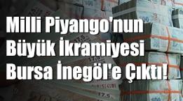 Milli Piyango'nun büyük ikramiyesi Bursa İnegöl'e çıktı! Bilet bir AVM'den alınmış